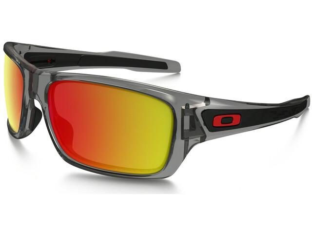 Oakley Turbine Sunglasses grey ink/ruby iridium polarized
